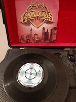 """Commodores – Lucy Vinyl 7"""" P/S Single Motown TMG 1282 1981"""