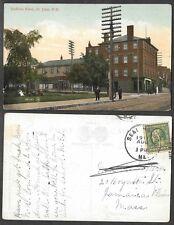 1911 Canada Postcard - New Brunswick - St. John - Dufferin Hotel