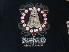 DECAPITATED Spheres of Madness heavy Death metal concert tour T shirt Men's 3XL