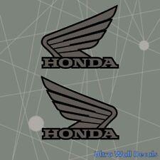 Honda Flügel für den Tank beide Seiten - Motorrad Aufkleber Sticker 135 x 110 mm