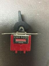 9201J2CQE2 Switch by C&K 9201 Lever PC Mount Epoxy Sealed