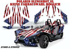 AMR RACING DEKOR GRAPHIC KIT POLARIS SLINGSHOT SL STARS N STRIPES B