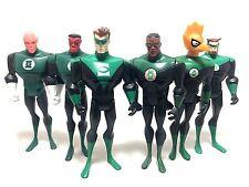 "DC Universe Green Lantern Lot Sinestro Hal Jordan Kyle Ragner 4.5"" Action Figure"