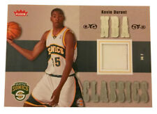 2007-08 Fleer - NBA Classics #TT-KD Kevin Durant Relic Seattle Supersonics