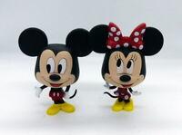 Duo de figurines Mickey Mouse et Minnie Mouse the true original 90 ans de magie