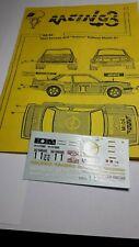 1:43 decal Racing43:Opel Ascona 400 Venere rally montecarlo 1981 Kullang