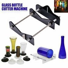 Glass Wine Bottle Cutter Cutting Machine Jar Diy Kit Craft Recycle Black H21