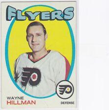 1971-72 TOPPS HOCKEY WAYNE HILLMAN #62 FLYERS VGEX *60672