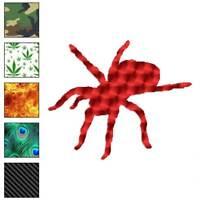 Spider Arachnid Tarantula Decal Sticker Choose Pattern + Size #1012