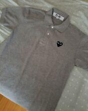 NEW Comme des Garcons Black PLAY Polo Shirt L Men JAPAN edition