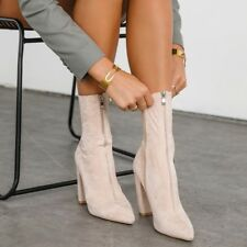 Billini Blush Suede Odelia Boots, Size 7 RRP: $99.95, NEVER WORN