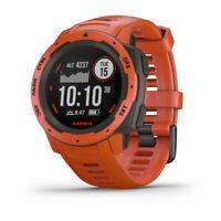GARMIN Instinct - Hellrot/Schiefergrau - Outdoor - Smartwatch