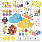 Kids Easter Bonnet School Parade Arts & Crafts Decorations (Various Items)