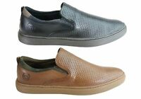 Mens Ferricelli Atlas Leather Cushioned Casual Shoes Made In Brazil - ModeShoesA