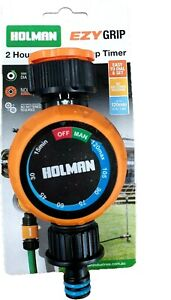 HOLMAN  2 Hour Mechanical Manual Tap Timer No Batteries Required