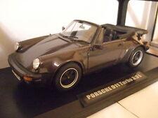 PORSCHE 911 TURBO 3,3l CABRIO 1975 braun metallic von NOREV 1:18 NEU  & OVP