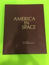 America In Space -Franklin Mint 1st Edition Solid Bronze Proof Set of  36 Medals