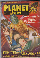 PLANET STORIES    November 1950   pulp magazine  1st Bi-monthly Issue