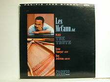 Les McCann - Plays The Truth, Pacific Jazz PJ-2, 1960 Stereo LP