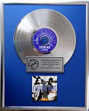 """Culture Beat - Serenity CD/Cover gerahmt +12"""" Deko goldene Vinyl Schallplatte"""
