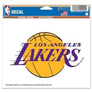 "Los Angeles Lakers 5""x6"" Multi Use Decal [NEW] NBA Car Truck Sticker Emblem"