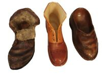 Set of 1 Ceramic Boot 1 Resin Shoe 1 SS Sarna Resin Boot Miniature I