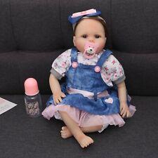 "22"" Reborn Dolls Real Life Soft Silicone Vinyl Handmade Realistic Newborn dolls"