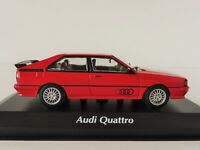 AUDI QUATTRO 1980 1/43 Maxichamps by Minichamps 940019420 RED
