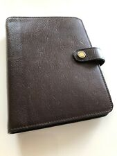Beautiful Mulberry Agenda Filofax In Brown NVT Leather. New Mulberry Inserts