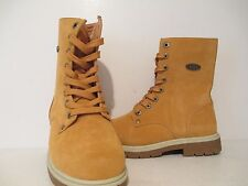 "Lugz Womens Stella HI 8"" Thermabuck Casual Military Style Boot GldnWht/Crm/Gum 6"