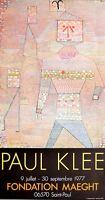 Paul Klee General en chef des barbares Poster Kunstdruck Bild 77x41cm