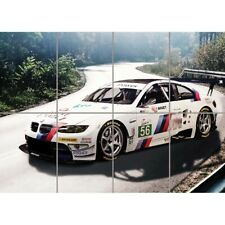 BMW M3 E92 Sports Rally Car Giant Wall Mural Art Poster Print 47x33 Inches