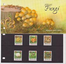 ALDERNEY 2004 PRESENTATION PACK FUNGI STAMP SET SG A223-A228