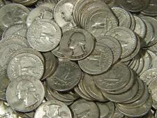 1932 - 1964 Washington Quarter All Different Silver 5 Coin Lot