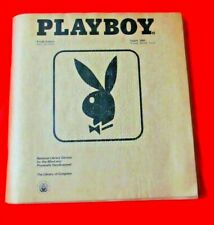 Playboy Magazine (Braille Edition) Aug 2000 Volume 47 Number 8 - Part 2 - RARE