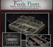 Dwarven Forge PUZZLE FLOORS Dungeons of Doom 2018 w/Painted-Magnets - D&D Tiles
