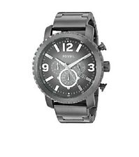 Fossil Gage Chronograph Watch BQ1651 Mens 50mm Gunmetal Stainless Steel