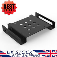"""Orico Aluminium 2.5""""/3.5""""inch Hard Drive HDD/SSD to PC 5.25 Bay Mounting Adapter"""