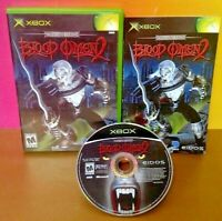Blood Omen 2 - Microsoft Xbox OG Rare Game Complete Tested Working