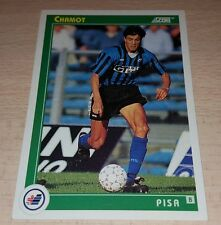 CARD SCORE 1993 PISA CHAMOT CALCIO FOOTBALL SOCCER ALBUM