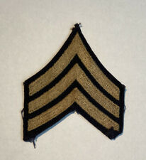Pre Ww2 Us Army Sergeant Sgt stripes chevron single patch