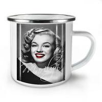 Celebrity Marilyn Legend NEW Enamel Tea Mug 10 oz   Wellcoda