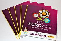 Panini EM Euro 2012 INTERNATIONAL VERSION – 5 x Leeralbum empty album vuoto