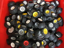 Lego 4 Wheels & Tyres (4 Matching) Technic Wheels Random Selection Vehicle Car