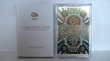 R02-05 NEW! RARE! Club Nintendo Japan Premium Mario Trump Playing Cards