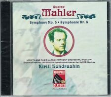 Kirill KONDRASHIN: MAHLER Symphony No.5 Moscow 1974 CD Audiophile Sinfonie NEU