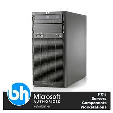 HP ProLiant Tower Server ML110 G6, Quad Core X3430 2.4GHz 8GB DDR3 RAM 500GB HDD