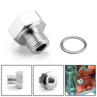 Metric 14mm to 1//4 NPT Fitting M14-1.5 to Pipe Thread Adapter NEW 1128