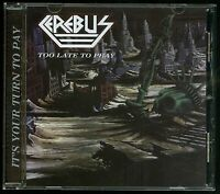 CEREBUS - Too Late to Pray /…Like a Banshee EP (NEW*US METAL*LIM.500*KIT 2018)