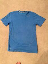 Nike Dri Fit Blue Short Sleeve Shirt Size S
